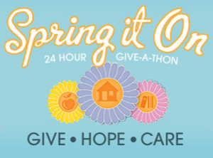 Spring it On: 24-hour Give-a-Thon