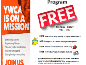 YWCA of WNY announces 2nd Teen Empowerment Program